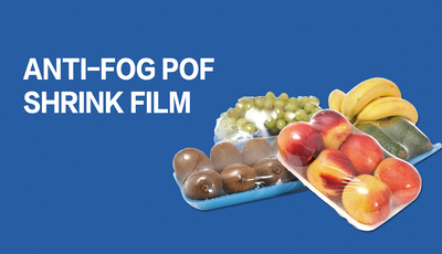 DMPACK-08 Anti-fog Polyolefin (POF) Shrink Film